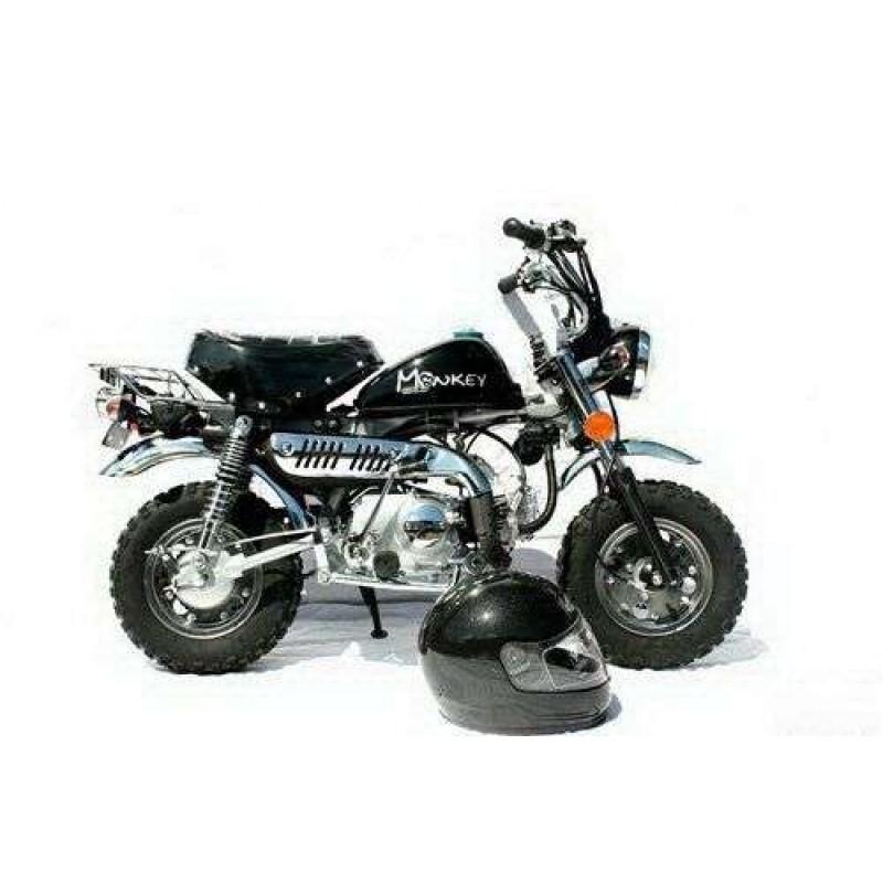 skyteam 50cc monkeybike crash 39 n burn. Black Bedroom Furniture Sets. Home Design Ideas