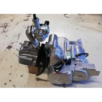 Zongshen 125cc motor, overliggende starter.