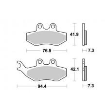 Aprilia RS/RX50, bremseklosser front
