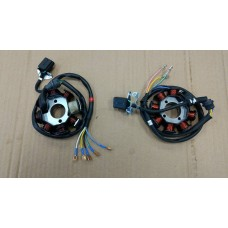 Tennplate, 125-250cc kinamotor m. stående sylinder