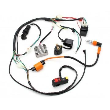 Komplett elektrisk anlegg, 125-250 kinamotorer.