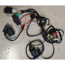 Komplett elektrisk anlegg, 50-150cc kinamotorer