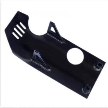 Beskyttelsesplate for motor