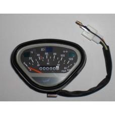 Speedometer 140 km/t Dax