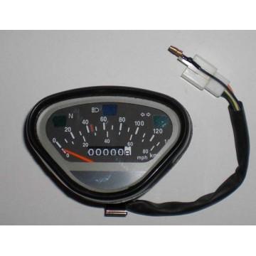 Speedometer 70/140 km/t Dax
