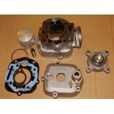 Derbi/Aprilia girmopeder, 2006 og nyere, 50cc erstatningssylinder m. topp