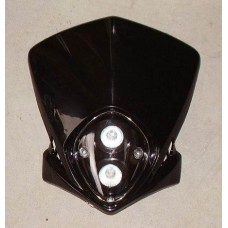 Frontlykt, universal 2 lamper