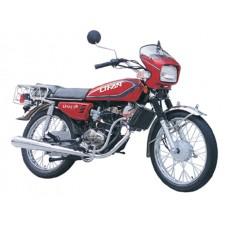 Honda CB100/125 eksosanlegg
