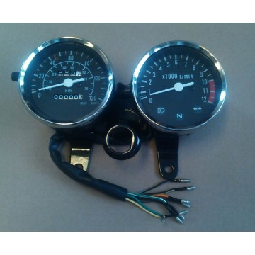 Skyteam Pbr, Speedometer 120km/t