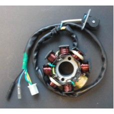 Tennplate/svinghjul, 50cc 4-takt kinascooter